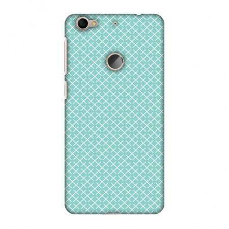 Pastel Checker - Letv Le 1s Eco Case, Letv Le 1S Case - Checkered In Pastel, Hard Plastic Back Cover. Slim Profile Cute Printed Designer Snap on Case with Screen Cleaning Kit