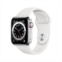 Deals on Apple Watch Series 6 GPS + Cellular 40mm Stainless Steel Case