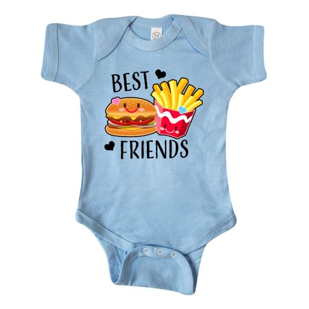 Best Friends Burger and Fries Infant Creeper