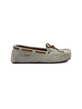 LAMO Womens Sabrina Moc II Suede Closed Toe