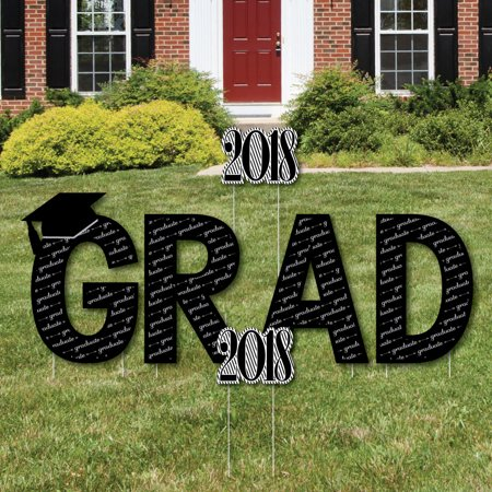 graduation cheers grad yard sign outdoor lawn decorations 2018 graduation party yard signs