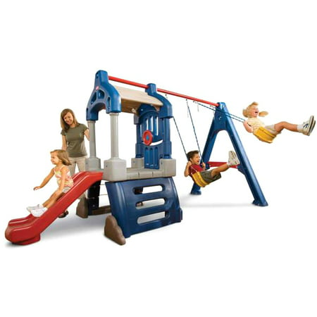 Little Tikes Clubhouse Swing - Playhouse Swing Sets