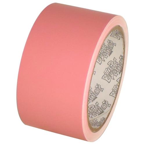 "Tape Planet 3 mil 2"" x 10 yard Roll Bubblegum Pink Outdoor Vinyl Tape"