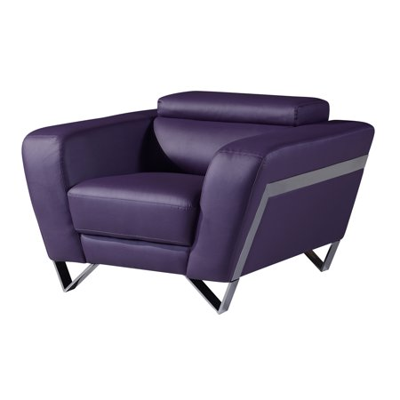 Brilliant Global Furniture Usa Natalie Purple Bonded Leather Arm Chair Beatyapartments Chair Design Images Beatyapartmentscom