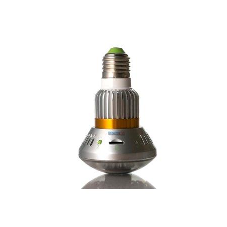 Bulb Surveillance Security CCTV Nightvision Spy Cam w/ Audio Recorder
