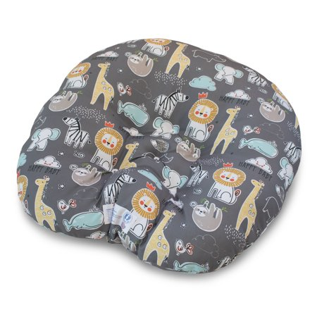 Boppy Newborn Lounger Charcoal Storybook