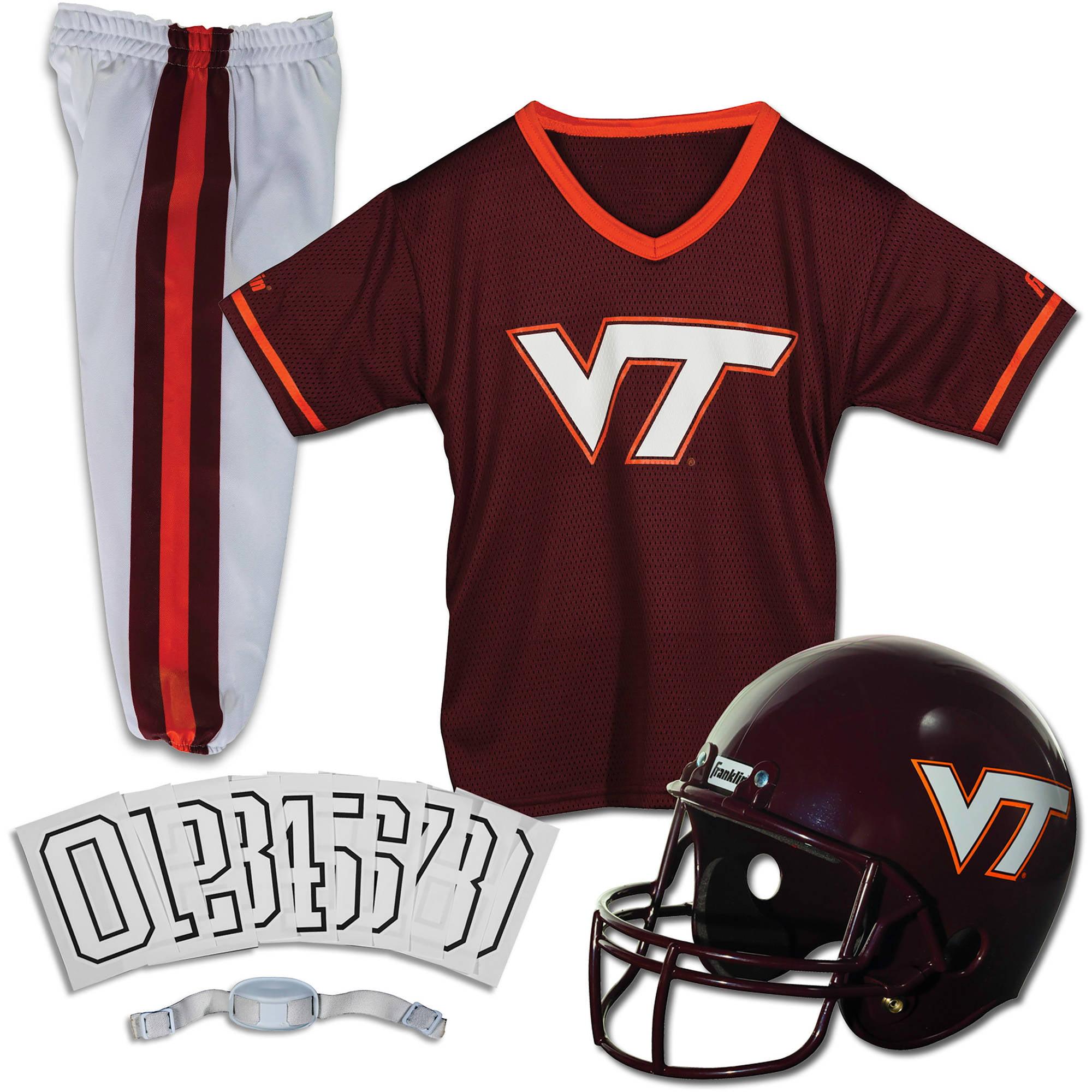 Franklin Sports NCAA Virginia Tech Hokies Uniform Set, Small