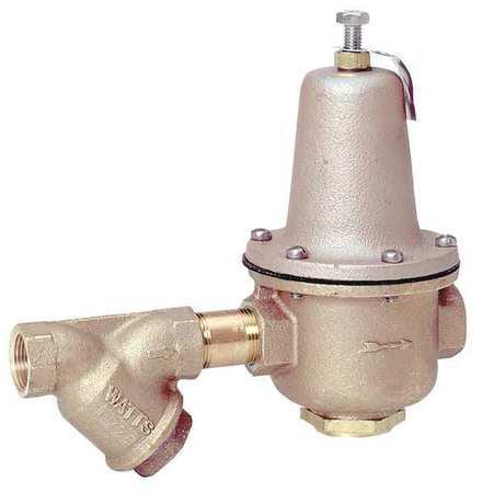 """Watt 10-15/16"""" Water Pressure Regulator Valve, FIP, Watts..."""