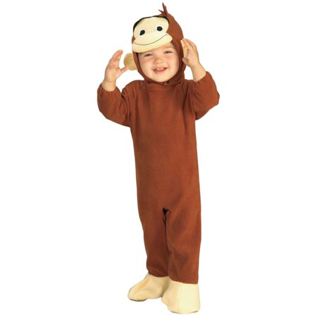 Morris Costumes Curious George Infant 6-12 Months Halloween Costume](Curious George Adult Costume)