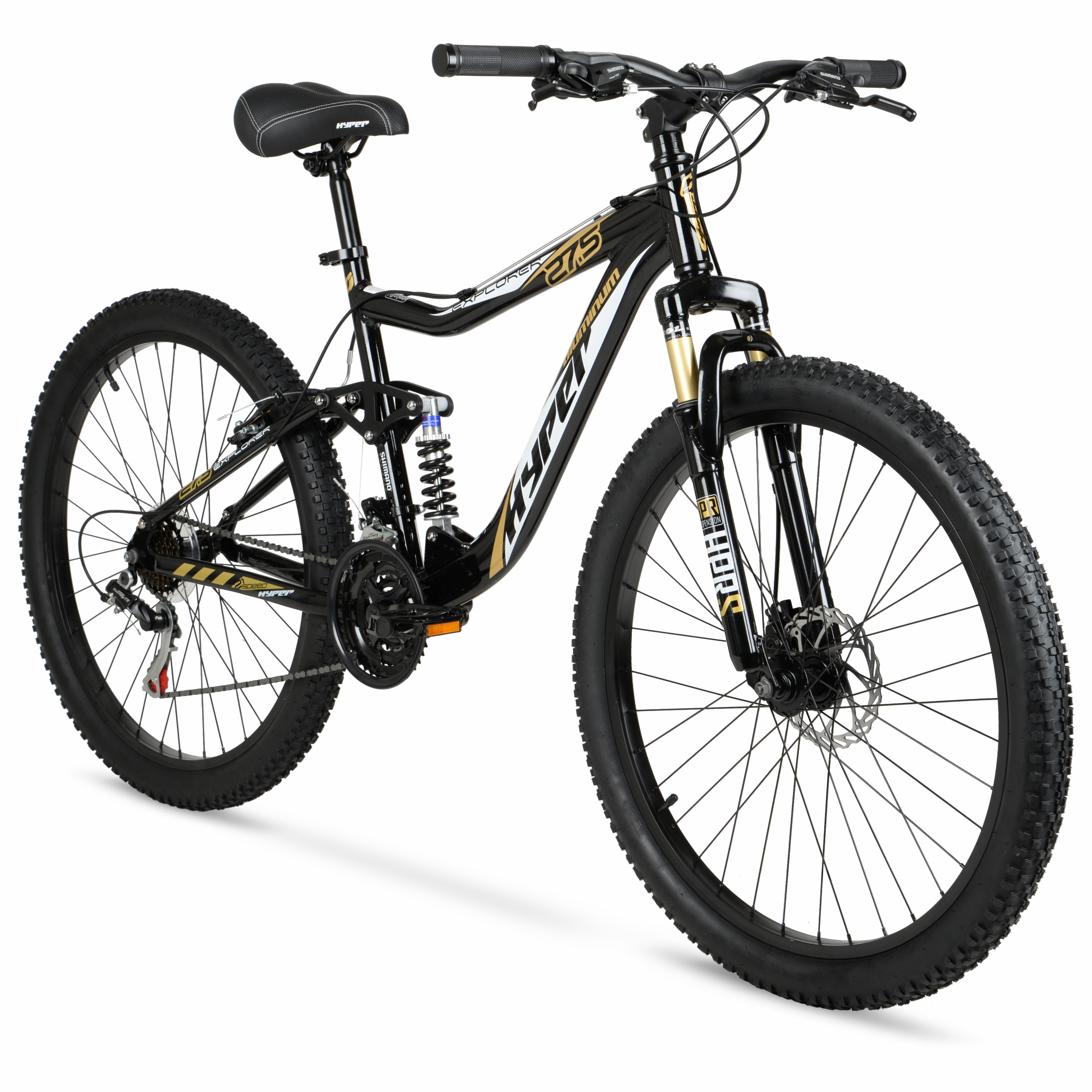 "Hyper Bicycles 27.5"" Men's Explorer Mountain Bike"