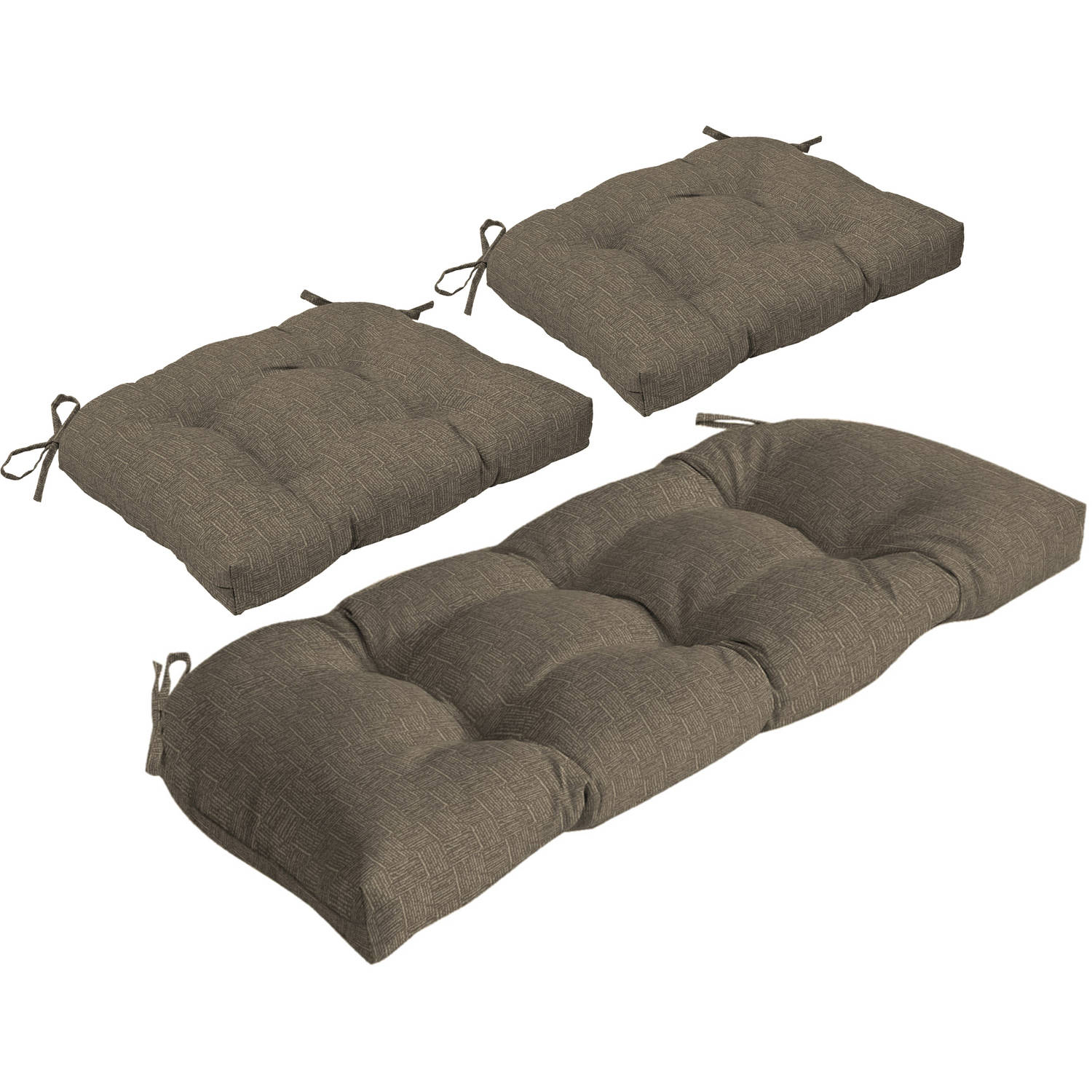 Arden Outdoors Wicker Cushion Set for Settee and 2 Chairs