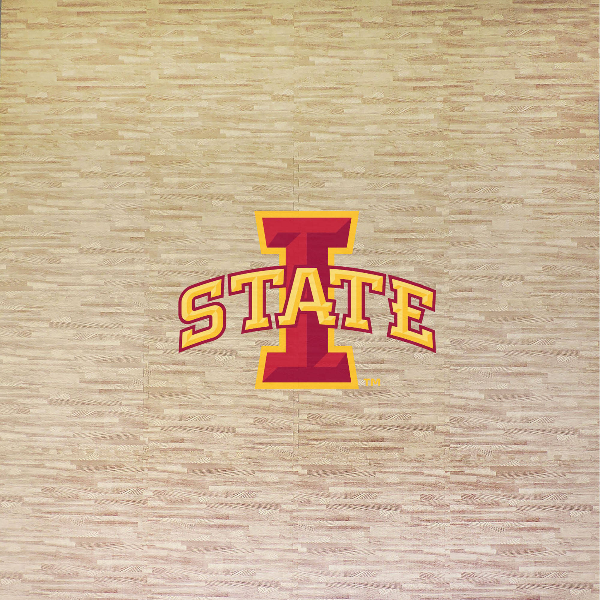 Iowa State University Portable Foam Puzzle Tailgate Floor Mat by