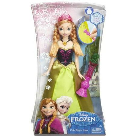 Anna Frozen Makeup (Disney Frozen Color Change Anna)