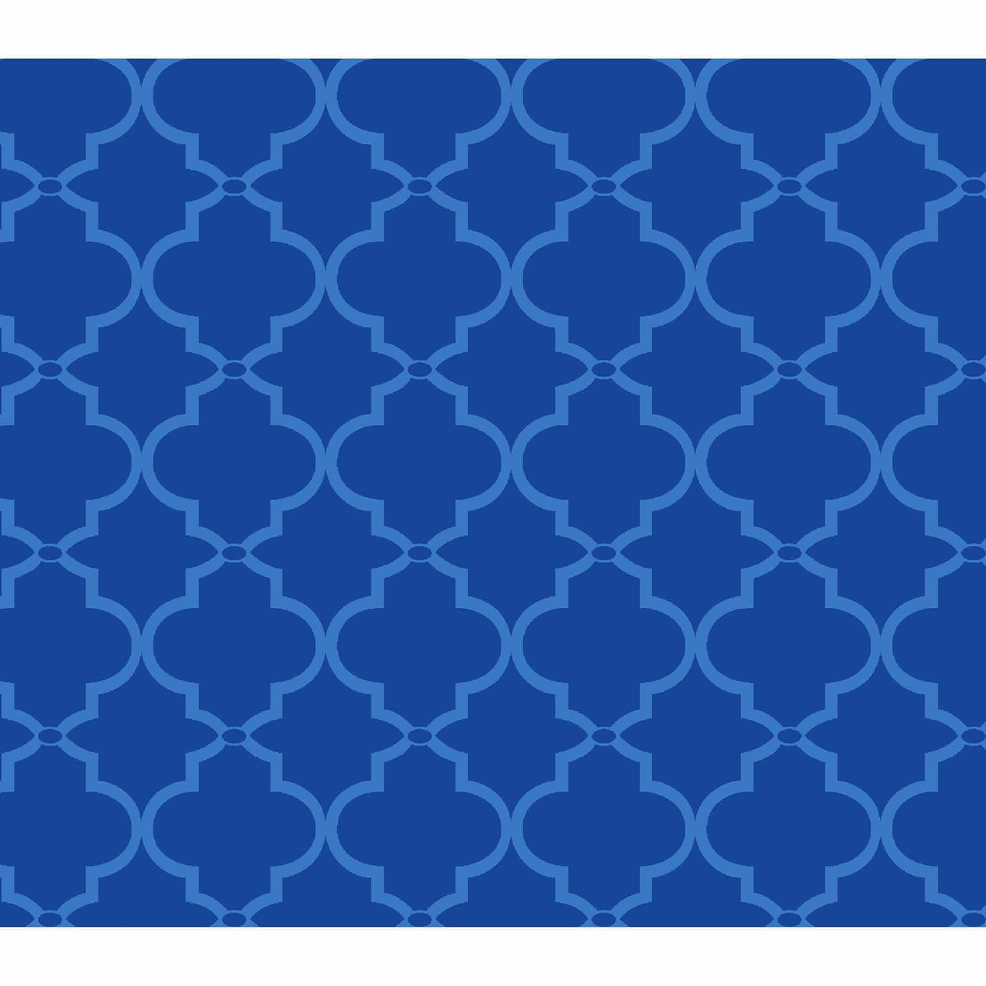 Springs Creative Cotton Blenders Tonal Lattice, Blue, Fabric by the Yard