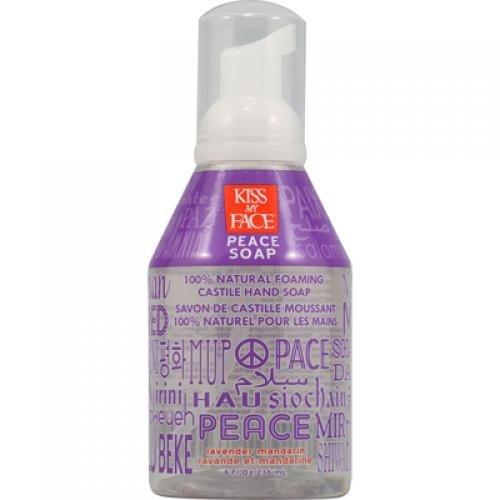 Kiss My Face 0553420 Castile Peace Soap Lavender Mandarin - 8 oz