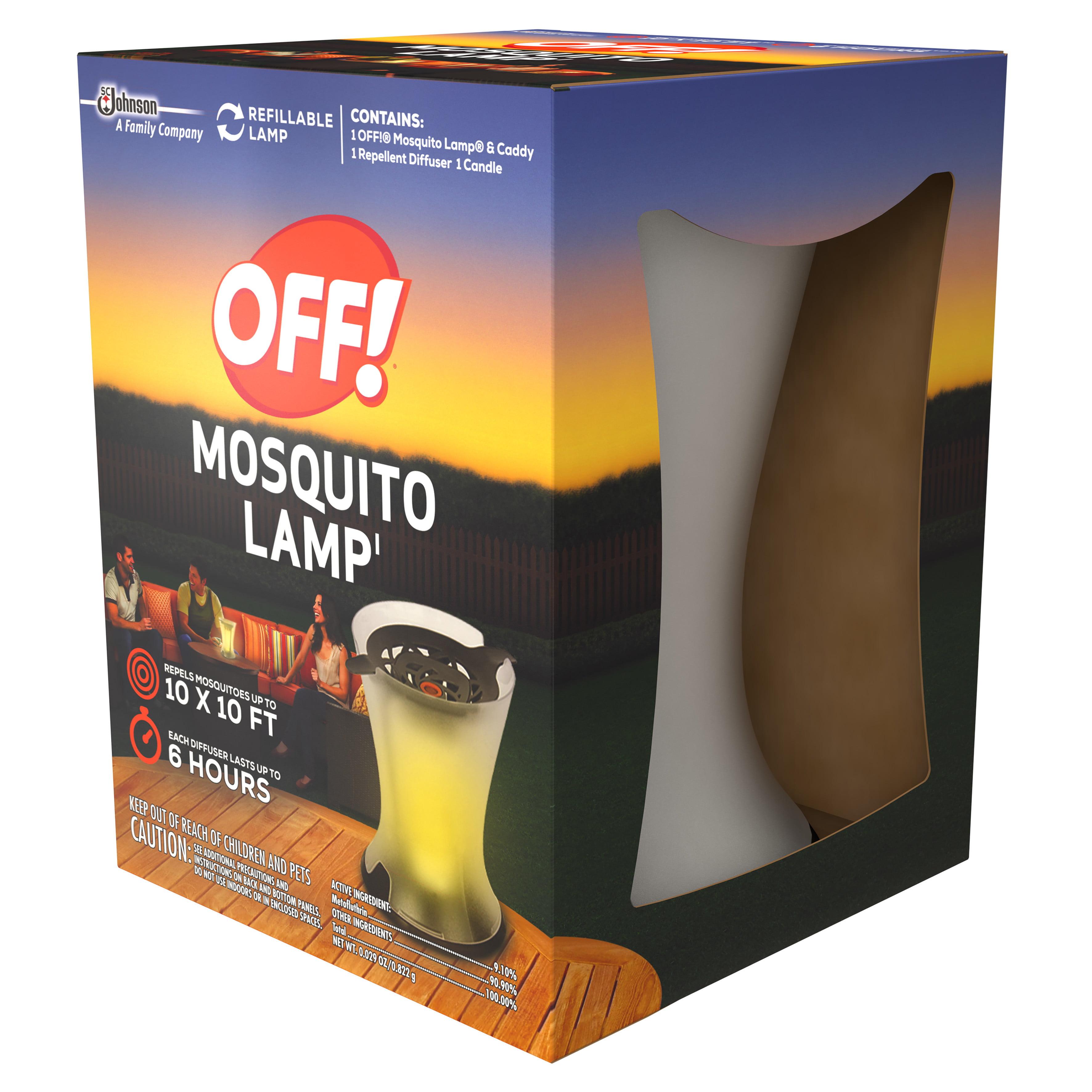 OFF! Mosquito Lamp Starter Kit 0.029 Ounces   Walmart.com