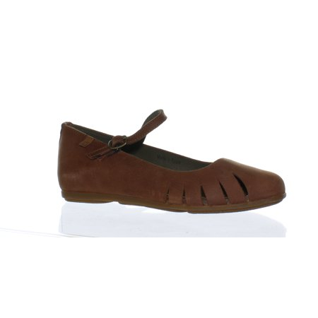 El Naturalista Womens Wood Brown Mary Janes EUR 36