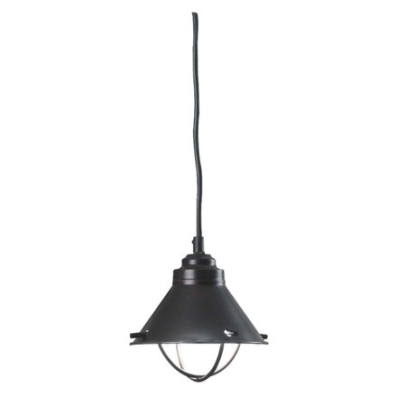 Kenroy Home Harbour Blackened Oil Rubbed Bronze Mini Pendant