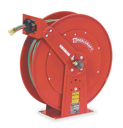 REELCRAFT TW86075 OLPT1 Hose Reel, Welding Gas, 75 Ft by Reelcraft