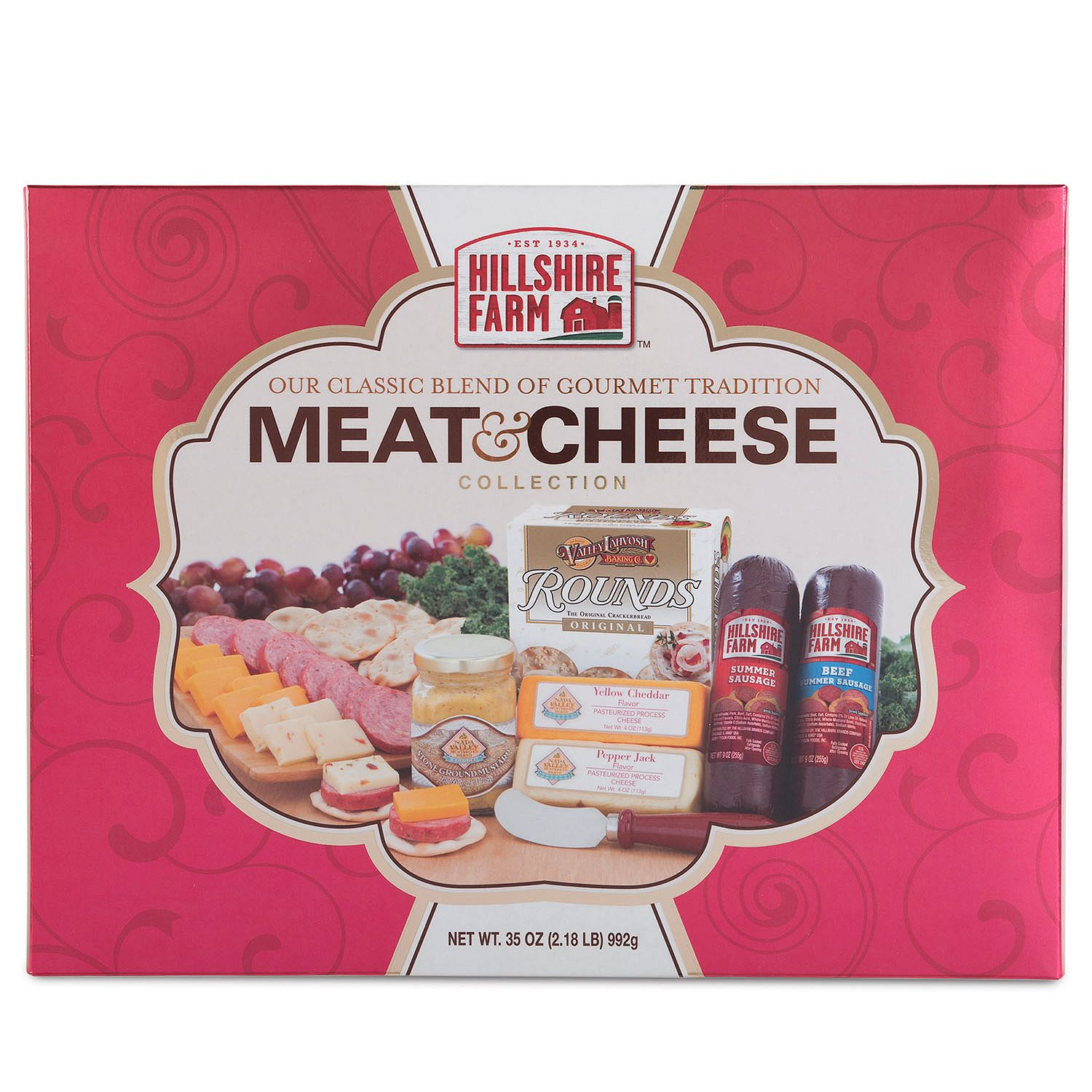 Hillshire Farm Gourmet Meat and Cheese Collection (Red)