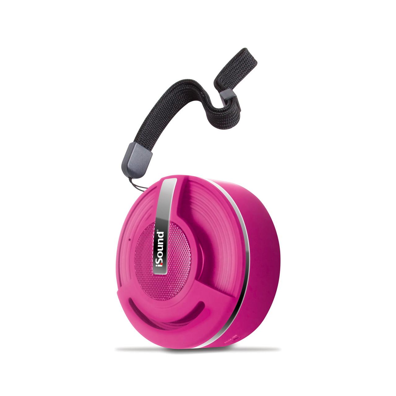 Hang On Bluetooth Speaker - Rubber Pink