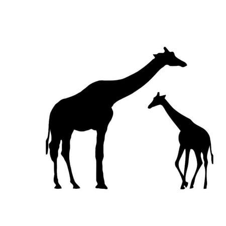 18x24 Giraffe and Baby Stencils Made from 4 Ply Mat Board](Giraffe Boards)