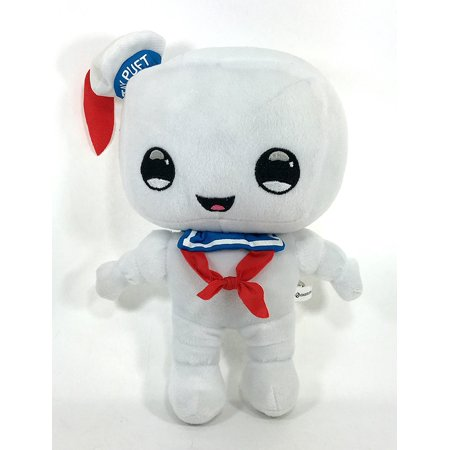 - Stay Puft 9 Inch Plush, STAY PUFT MARSHMALLOW MAN MEASURES 9 INCHES TALL By Ghostbusters (Ghostbusters Stay Puft Marshmallow)