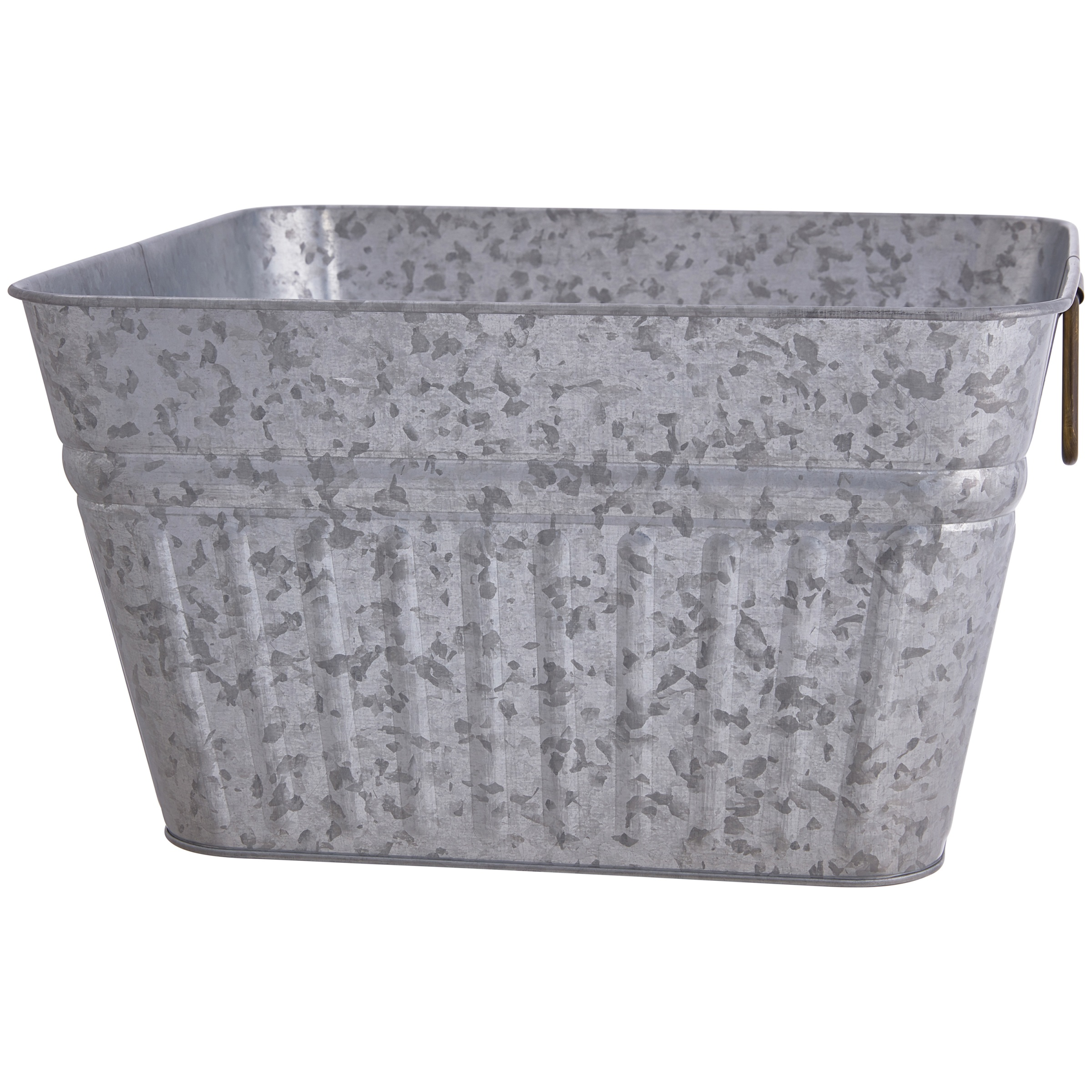 Better Homes and Gardens Galvanized Steel Square Tub