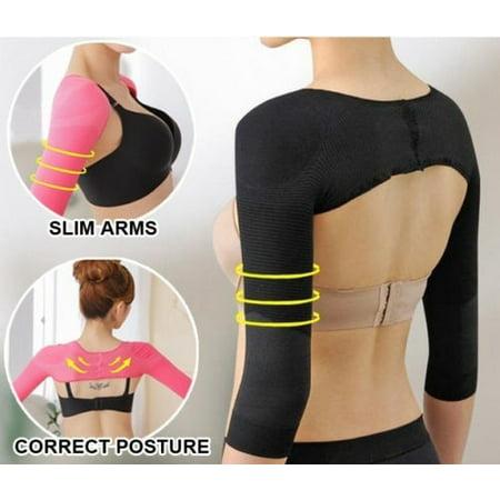 Shoulder Arm Control Slimming Shaper Long Sleeves Slimmer Shapewear Arm wear M L - image 1 de 5