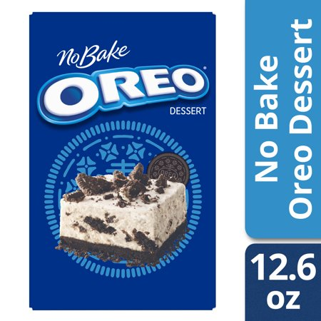 (3 Pack) Jell-O No Bake Oreo Dessert Mix, 12.6 oz Box ()