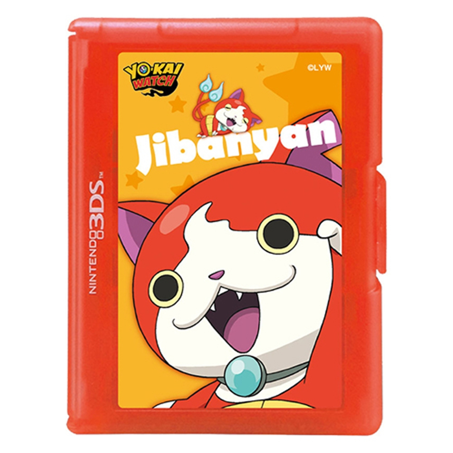 Hori YoKai Watch Game Card Case For Jibanyan Nintendo New 3DS XL