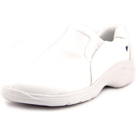 Nurse Mates Dove Women  Round Toe Leather White Nursing & Medical - White Nurse Mates