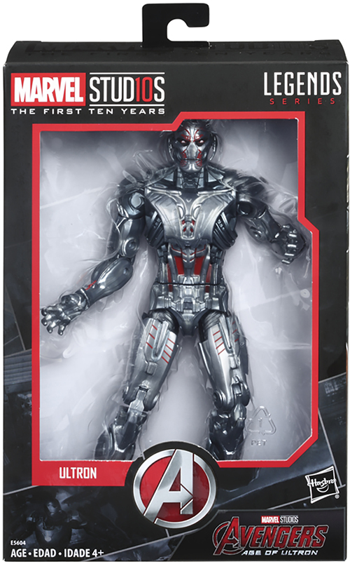 Marvel Legends Marvel Studios First Ten Years ULTRON Avengers Age of Ultron New