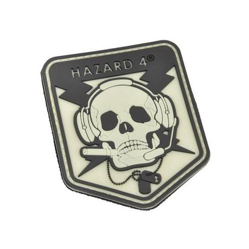 Hazard4 SpecOp Skull Patch, Glow in dark