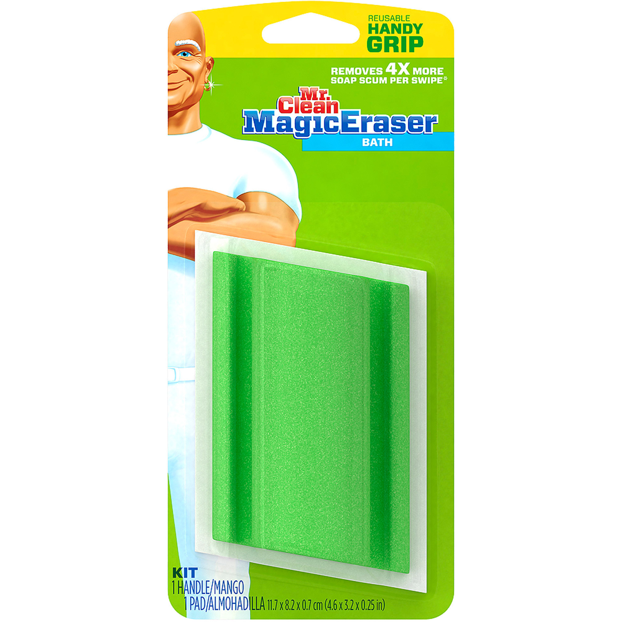 Mr. Clean Magic Eraser Bath Household Cleaning Pad Kit, 2 Pk   Walmart.com