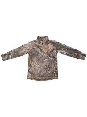 Boys Hunting Peformance 1/4 Zip Shirt