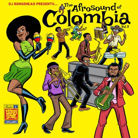 Afrosound of Colombia 2 / Various (Vinyl)