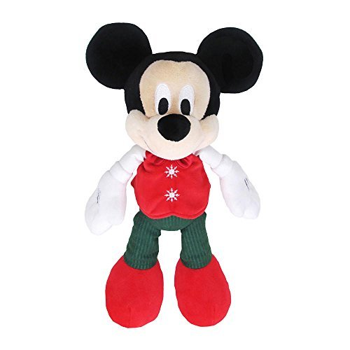 Kids Preferred Disney Baby Mickey Mouse Christmas Plush by