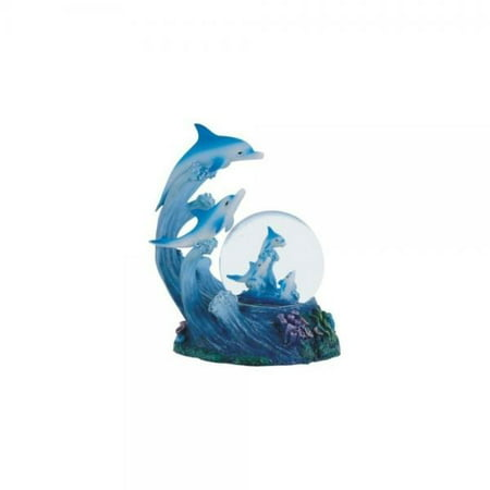 George S. Chen Imports Snow Globe Dolphin Collection Desk Figurine Decoration](Personalized Snow Globes)