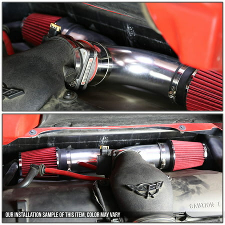 Dodge SUV/Truck Short Ram Cold Air Intake Pipe Kit Set ()
