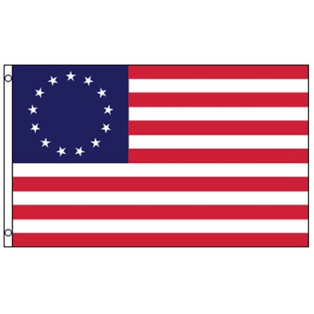 3x5 Betsy Ross Flag DuraFlag USA Historical 1776 Banner United States (Betsy Ross Flag Picture)