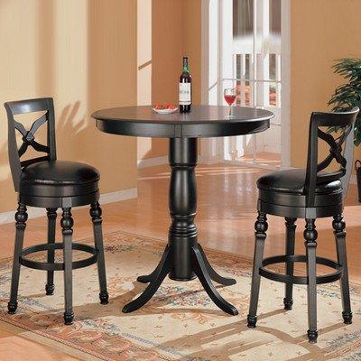 Bundle 21 wildon home littleton pub table set 5 pieces for 4 piece dining room set