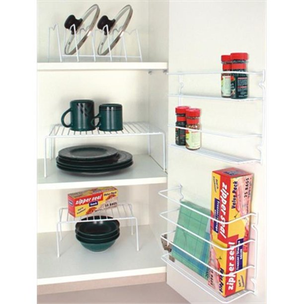 Kitchen Cabinet Organizers Walmart Home Basics 5 Piece CabiOrganizer   Walmart.  Walmart.com