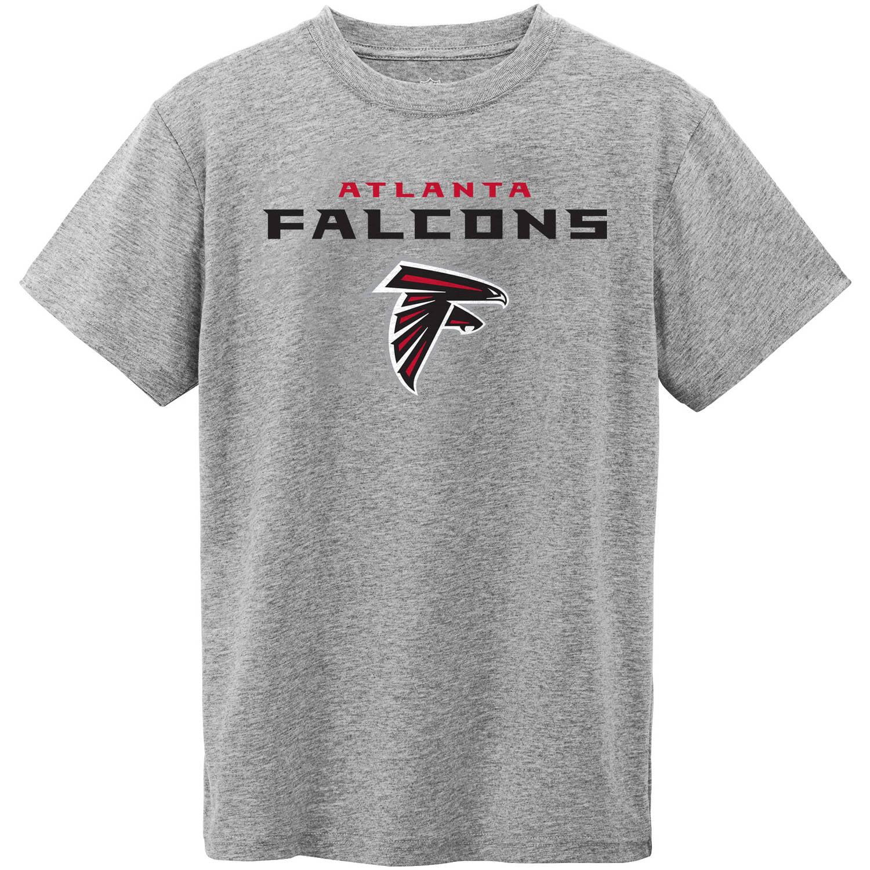 NFL Atlanta Falcons Youth Short Sleeve Grey Tee