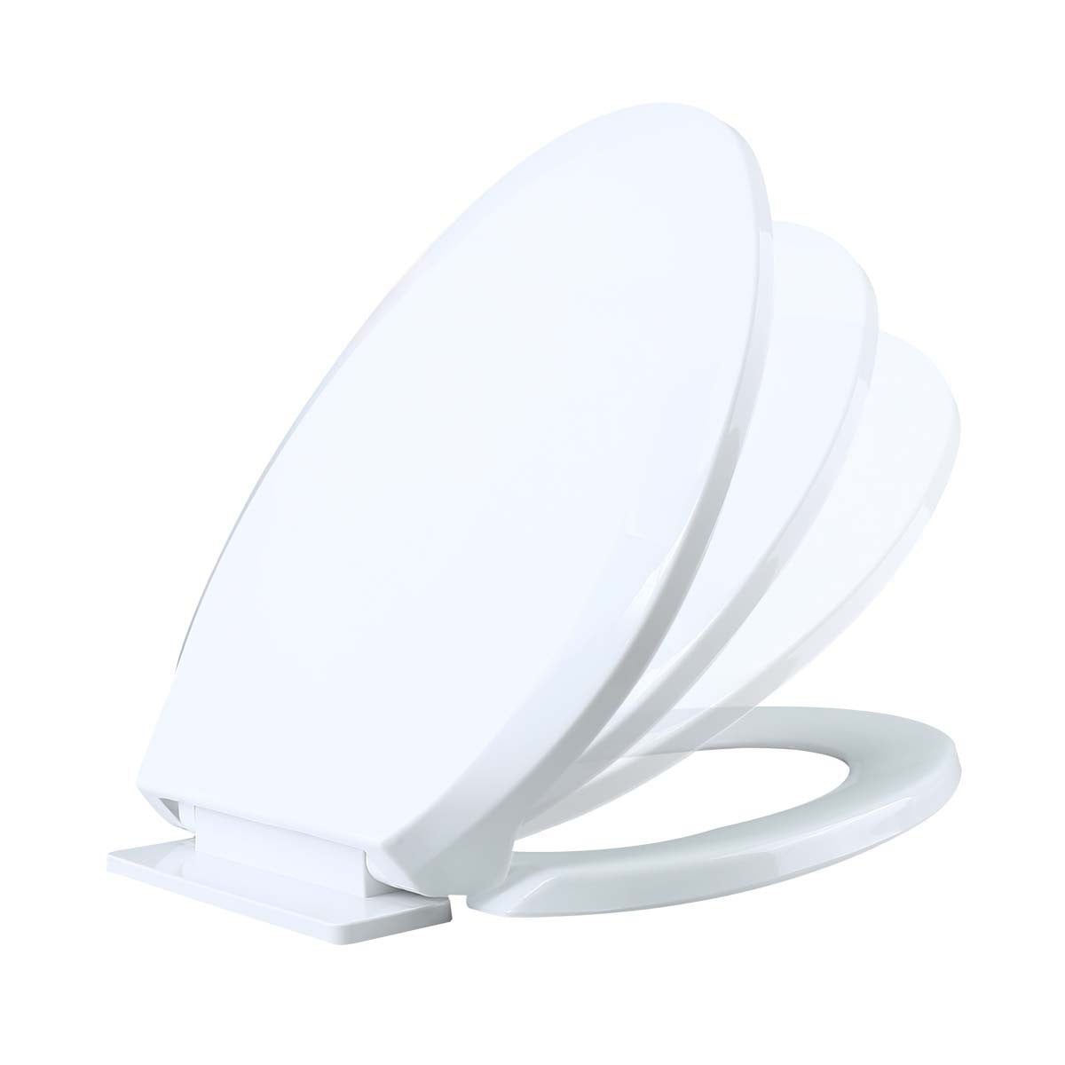 Peachy Renovators Supply White Slow Close No Slam Plastic Elongated Toilet Seat Andrewgaddart Wooden Chair Designs For Living Room Andrewgaddartcom