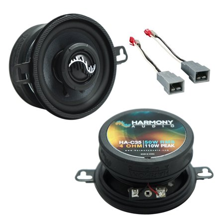 Dash Speaker Cover - Fits Ford Mustang 1982-1985 Front Dash Replacement Harmony HA-C35 Premium Speakers New