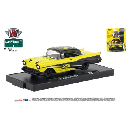 M2 Machines Auto-Drivers 1:64 R55 1957 Chevrolet Bel Air (Bel Air Stores)