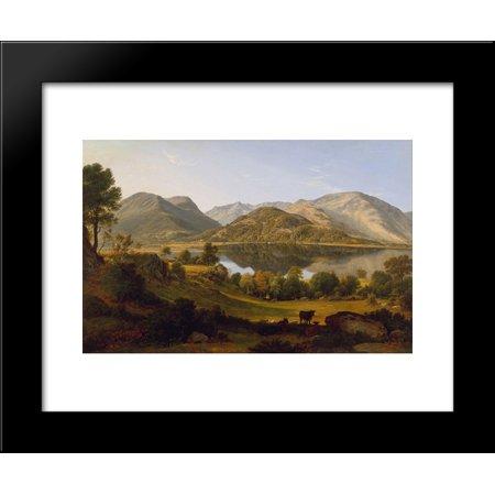 Ullswater, early morning 20x24 Framed Art Print by John Glover ...