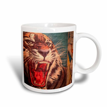 3dRose Florida, Sarasota, Ringling Museum, Circus Museum - US10 WBI0588 - Walter Bibikow, Ceramic Mug, 11-ounce