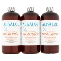 ALKALOL Original Nasal Wash, 16 fl oz, (Pack of 3)